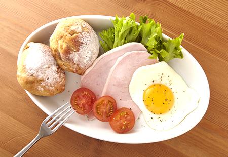 朝食を手軽にアップデート!
