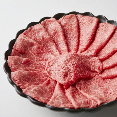 鎌倉ハムギフト「椿」国産黒毛和牛 もも又は肩 すき焼き用